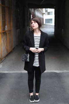 Die 75 besten Bilder von Schwarze Blazer   Black blazers, Casual ... 468bc9af95