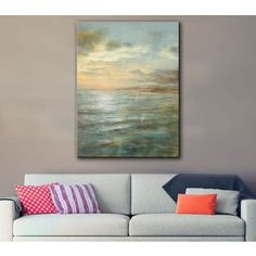 Shop for ArtWall Danhui Nai's Serene Sea 3, Gallery Wrapped Canvas. Get free delivery at Overstock.com - Your Online Art Gallery Store! Get 5% in rewards with Club O! - 18078509