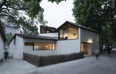 Image 1 of 46 from gallery of Lost Villa Boutique Hotel in Yucun / Naturalbuild. Photograph by Hao Chen