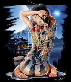 Tattooed Geisha