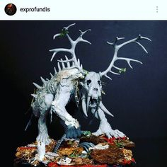 In case you're not following @exprofundis he's bringing Grimdark to #ageofsigmar with his #aos28 project. #followfriday