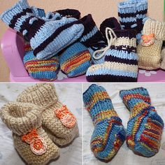 babyschuhe-strickanleitung You are in the right place about babysocken stricken bumerangferse Here w Baby Booties Knitting Pattern, Knitted Booties, Clothing Patterns, Knitting Patterns, Baby Hands, Nautical Fashion, Fingerless Gloves, Arm Warmers, Diy Gifts