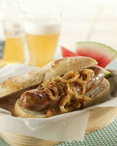 Brat Bonanza! A HUGE value for any party. Get 60 brats in a variety of flavors including: pineapple, cheddar jalepeno/spicy, cranberry, german apple, hot italian, sweet italian, beer, apple, chorizo, and regular.  Thats enough to satisfy any camper!  order now at www.schenkerfarms.com