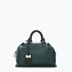 ZARA - SHOES & BAGS - SAC BOWLING SOUPLE