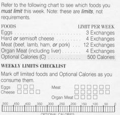 Old Weight Watchers Exchange Program 1980s 1990 Quick ...