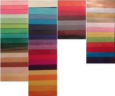 Paleta exklusivních dostupných barev na www.pompomtime.cz pro výrobu Pom-Pomků na Vaši oslavu.
