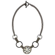 Gunmetal Glam Necklace