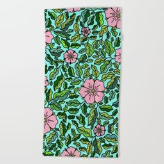 Oversized Beach Towels, Wear Sunscreen, Meet The Artist, Good Mood, Colorful Flowers, White Cotton, Floral Tie, Flower Art, Swimming