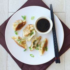 This Spicy Pork and Spinach Dumplings with Soy Dipping Sauce are the easiest dumplings you will ever make.