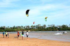 Prefeitura de Boa Vista, etapa de Kitesurf leva competidores a Praia Grande #pmbv #prefeituraboavista #boavista #roraima #jogosdeverao