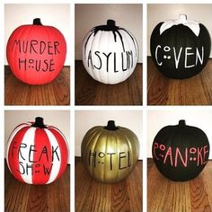 "31 Likes, 3 Comments - American Horror Story (@ahs.cultmember) on Instagram: ""I love these I kind of want to make them for Halloween? Which ones your favourite?"""