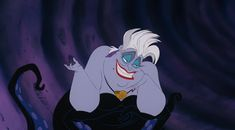 Ursula from The Little Mermaid Here's Why The Villains Are Actually The Relatable Heroes Of Disney Movies Ursula Disney, Hades Disney, Evil Disney, Disney Quiz, Disney Female Characters, Female Villains, Disney Films, Disney Villains, Fictional Characters
