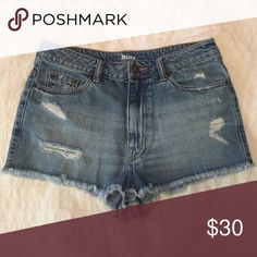Urban Outfitters: BDG High Rise Dree Cheeky These shorts are in perfect condition, have only been worn a couple times and have no tears, marks or stains. BDG Shorts Jean Shorts