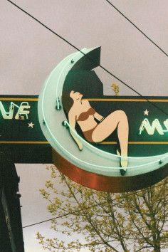 Neon sign - Blue Moon Tavern - Seattle, Washington