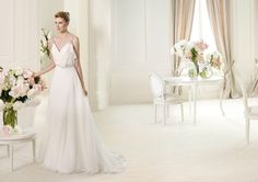 Pronovias presents the Urcal wedding dress. Fashion 2013. | Pronovias