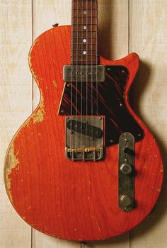 Fano Guitars Alt de Facto SP6 Roundup Orange