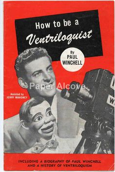 How to be a Ventriloquist by Paul Winchell 1950s by dustyshelves70