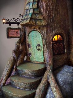 A very tall fairy tale tree.  Amazing (you need to see the full photo of it) - $ 4,200 from Australia tho.