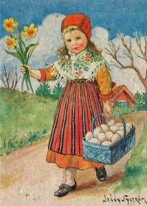 Jenny Nyström (1854-1946), Sweden