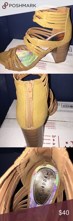 "Super cute Madden Girl wedge shoes NWOT Madden Girl wedges. Super cute. 3"" heel. Madden Girl Shoes"