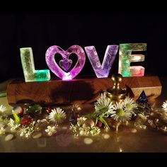 4 Letter Word - LOVE in lights! £70.00
