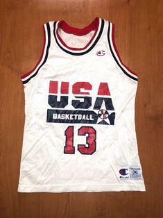 f4b80dcb0f44 Vintage 1992 Chris Mullin Dream Team Champion Jersey Size 36 usa charles  barkley scottie pippen magic