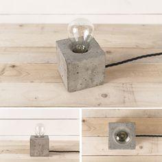 Concrete lamps by Henrik Karlsson