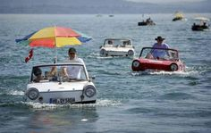 I'll rather be..In a carboat in Switzerland