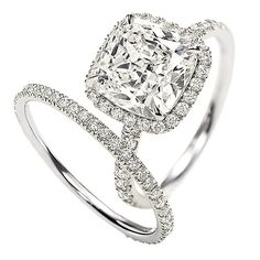 awesome white gold wedding rings for her