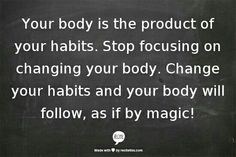 Changing habits can be magic