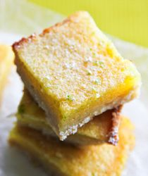 Life Made Simple: Lime Curd Bars with Coconut Crust