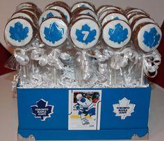 TML hockey puck cake pops