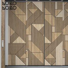 Geometric Wood Patterns - Home Design Ideas