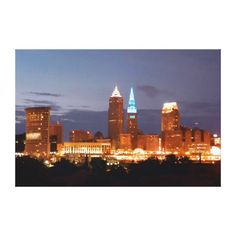 http://www.zazzle.com/cleveland_ohio_terminal_tower_blue_canvas_print-192945353017985577 SOLD thank you to the Ohio buyer!