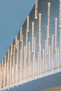 The architectural lighting design at Riverbank House provides a stimulating, low-energy workplace environment.