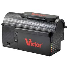 Victor Multi-Kill Electronic Mouse Trap The latest innovation in electronic rodent control, the Victor Multi-Kill Trap delivers a high-voltage shock to Electric Rat Trap, Rat Traps, Mouse Traps, Bees And Wasps, Pest Management, Humming Bird Feeders, Staircase Design, Pest Control, House