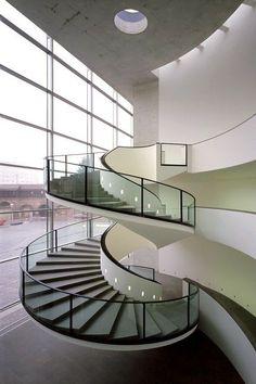 Pinterest: @Kekedanae20 Modern Staircase, Stairs, Ladder, Staircases, Stairway, Ladders, Stairways