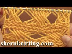 Knitting Cross Stitch Pattern Tutorial 7