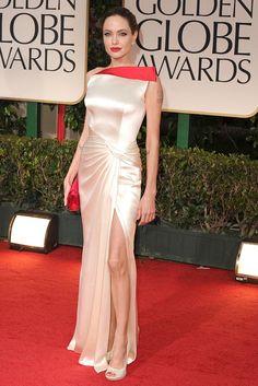 Angelina Jolie - Golden Globes 2012  Versace
