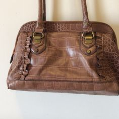 Jessica Simpson satchel Really nice, gently loved, brownish taupe satchel.  Clean inside and outside.   032310 Jessica Simpson Bags Satchels