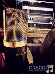 #microphone #studio #homestudio #grecostudio