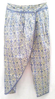 Odzież, Buty i Dodatki Anokhi Orchid Lilac Culottes Spodnie 100% Cotton