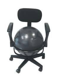 ballon chaise de bureau