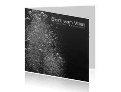 28d21cb1b84 #Moderne #rouwkaart met #bubbels. Wist u dat u kunt alle #ontwerpen