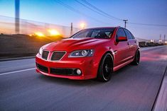 Pontiac G8 Feature: Red Rocket – Maverick Man Carbon