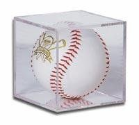 BallQube Softball Holder Display - Sports Memoriablia Display Case - Sportscards Collecting Supplies by BallQube. $10.85. The BallQube Softball Holder is made of high impact, crystal clear polystyrene,features a 2 piece design with built-in stand and you can add 98% effective UV coating.