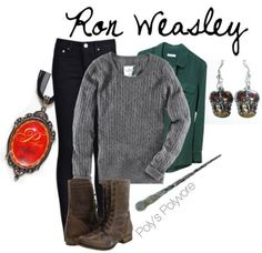 Ron Weasley style. Harry Potter fashion :)