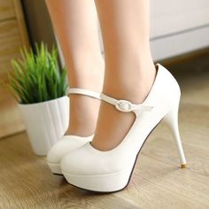 Aliexpress.com : Buy 2013 new fashion buckle non slip black sexy office high heels women's high heeled shoes platforms size 11 from Reliable high-heeled shoes suppliers on ENMAYER CO., LIMITED $29.90
