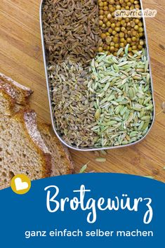 Brotgewürz selber machen Brotgewürz selber machen,Backen Does your freshly baked bread taste too bland? Give him a strong and full aroma with this homemade bread spice recipe! Healthy Food Recipes, Healthy Meals For Two, Healthy Breakfast Recipes, Beef Recipes, Chicken Recipes, Snack Recipes, Dinner Recipes, Gourmet Foods, Recipe For Teens