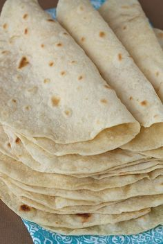 Homemade Flour Tortillas, so easy, SO good! Mac Here!- it is true! And it is so cool how much fun it is to know that you are eating home made tortillas. Really good! A few seconds after they bubble flip I found gave best results